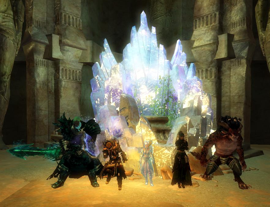Heart Of Thorns Live And Dnd Claims Guild Hall Dungeon